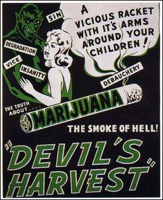 Devil's Harvest 1942 - Anti Cannabis propaganda