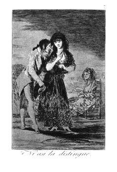 De los caprichos de Goya. Ni asi la distingue....   QUE LINDO  FUE IR A MADRID!