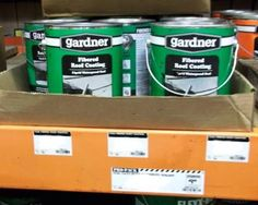 Gardner Fibered Roof Coating At The Home Depot