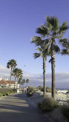 Dicas de Coronado, anexo de San Diego, na Califórnia.