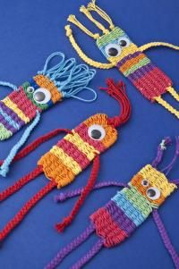 weaving creatures. This might be straw weaving. This looks like straw weaving…