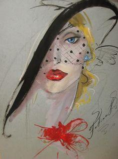 art-and-dream: Art painting wonderful style by Fatima Tomaeva. Art And Illustration, Illustrations Posters, Fashion Illustrations, Art Visage, Figurative Kunst, Fashion Painting, Dream Art, Art Graphique, Types Of Art