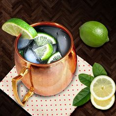 Enjoy your chilled cocktails this summer with style.. #coppermugs #moscowmule #amazon  Buy is on @amazon click our profile link http://amzn.to/1EFlP8J