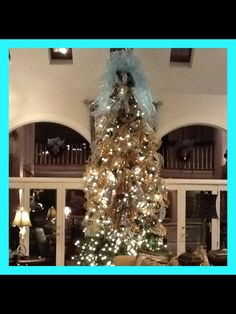 Christmas tree 15' design by: Inspired Interiors by Brenda Tuschl