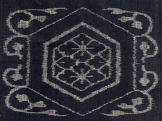 Japanese indigo E-Gasuri 19th Century Meiji period. by klektik