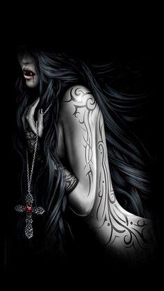 Vampire vampire vampire art, gothic vampire y vampire pictur Vampire Love, Female Vampire, Gothic Vampire, Vampire Art, Vampire Books, Dark Gothic Art, Gothic Fantasy Art, Fantasy Girl, Fantasy Warrior