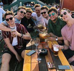 The Buttercreams Jack And Conor Maynard, Buttercream Squad, Boy Squad, Caspar Lee, Ricky Dillon, Joey Graceffa, Kian Lawley, Jc Caylen, Joe Sugg