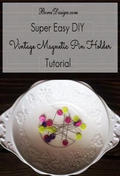 DIY Upcycled Vintage