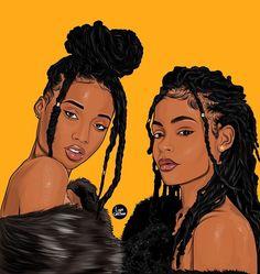 🌺Aminatta 🌺 Which one do you prefer , shades on or off ? Sexy Black Art, Black Love Art, Black Girl Art, Black Girl Magic, Black Art Painting, Black Artwork, Black Couple Art, Drawings Of Black Girls, Black Girl Cartoon