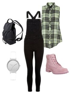 """Untitled #48"" by megsgalley on Polyvore featuring Dylan, New Look, Timberland and Skagen"