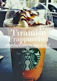 The Tiramisu Frappuccino! #StarbucksSecretMenu  Order by recipe here: http://starbuckssecretmenu.net/tiramisu-frappuccino-starbucks-secret-menu/