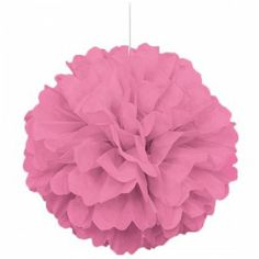 No gender reveal party is complete without some hanging decorations!  http://www.partyrama.co.uk/shop/any-age-pink-glitz/pink-honeycomb-hanging-decoration-puff-ball/