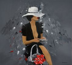 Source Of Inspiration, Beautiful Paintings, Abstract, Gallery, Figure Painting, Women, Photographs, Portraits, Ideas