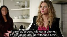 She also understands the importance of a cell and the impact of its existence on society. | Definitive Proof Hanna Marin Is The Best Pretty Little Liar
