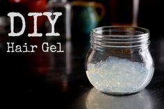 DIY Hair Gel