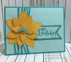 StampinMojo, PPA#301, Swirly Scribbles Thinlits, Friends & Flowers