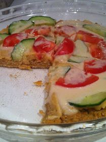 Chaos and the Kitchen: Meatless Monday: Baked Falafel Pie