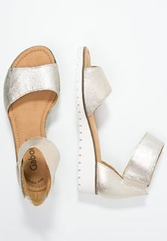 119eb0f6c704da Gabor Wedge sandals - platino for £72.00 (12 07 16) with