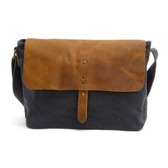 44cf109444 Waxed Canvas Messenger Bag   Leather Messenger Bag   Laptop Messenger Bag   Men  Messenger Bag   Messenger Bag Men   Satchel   Briefcase men(S13) from Uni4  ...