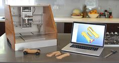 Desktop 3D printers have offered makers their building chops for some time now, and Carbide 3D is looking to do the same with a highly capable CNC machine. This is the Nomad 883: a mill that takes building beyond ABS and PLA plastics to wood, brass, aluminum and more. The unit wields a brushless DC spindle motor that routs designs on an 8 x 8-inch machining area.