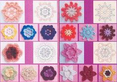 Crochet MISCELLANEOUS FLOWERS | World of Craft