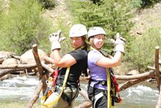 We've got your back! Colorado Zipline Adventures