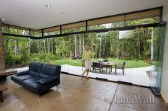 . doors, dolphin, fingerprint, living rooms, glass door, issaquah resid, glass walls, nana wall, hous