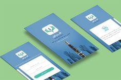 Ghalame Aval App #UI #UX #Visual