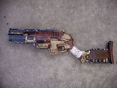 Steampunk-Gun-Nerf-Sledgefire-Victorian-Gothic-Cosplay-Painted-Prop