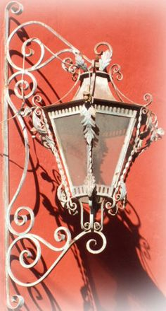 Rustica House victorian outdoor lantern was produced of hammered iron. The lantern is available with oxidized finishing, unfinished or painted black.