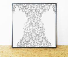 #Cat #Artwork (Digital Cat Print) for Instant Download. On Trend Black White Cat (Black White Artwork) to Update or Decorate your Office or Home Decor. Cost-Effective, Beauti... #handmade #décor #poster #blackandwhite #print #printable #art #etsy #wallart #love #cat #artwork ➡️ http://jto.li/gYrGC