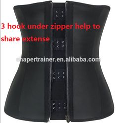 6bc9b782f3 Women s Latex Sport Girdle Supporting The Leather 3xl Waist Training Corset  Photo