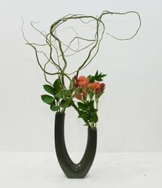 Ikebana Flower Arrangement | Modern & Contemporary Ikebana Arrangement - The Flower Sculptor ...