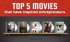 Lights. Camera. Action. #Top5 Reel-Stories Inspiring Entrepreneurs! #inspirational #movies