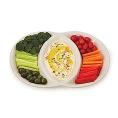 Venn Diagram Serving Platter | divided serving dish | UncommonGoods
