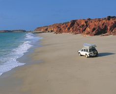 Cape Leveque in Broome West Australia. Very quick tides here you can lose  your car.