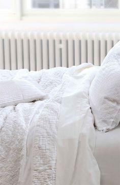 white, clean and crisp duvet