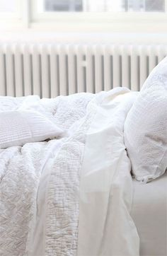 White, clean and crisp duvet