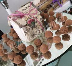 Casita París con trufa /Cacao Gourmet
