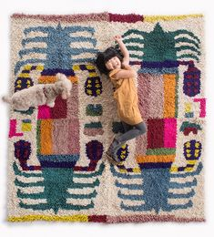 Date Palm Rug Quad Mix Colors 2019 Date Palm Rug Quad Mix Colors tamar mogendorff The post Date Palm Rug Quad Mix Colors 2019 appeared first on Blanket Diy. Textile Fabrics, Home Textile, Textile Design, Dates Tree, Cat Room, Woven Rug, Color Mixing, Home Goods, Hand Weaving