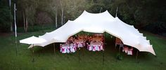 Freeform Tents, Event Tent Manufacturer - sand coloured wedding Stretch Freeform Tent
