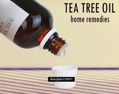 DIY beauty & Face masks : Illustration Description Home remedies using tea tree essential oil -Read More – Facial Cleanser, Herbal Remedies, Home Remedies, Natural Remedies, Tea Tree Essential Oil, Essential Oils, Diy Beauty Face Mask, Castor Oil For Acne, Tips
