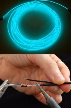 Working with Electroluminescent Wire http://www.justleds.co.za http://www.justleds.co.za