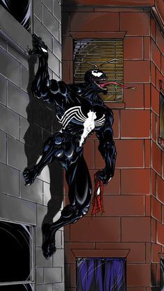 #Venom #Fan #Art. (Classic Venom) By: Jake Daniels. (THE * 5 * STÅR * ÅWARD * OF: * AW YEAH, IT'S MAJOR ÅWESOMENESS!!!™)[THANK Ü 4 PINNING!!!<·><]<©>ÅÅÅ+(OB4E)