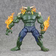18cm Spiderman Green Goblin Marvel Legends Infinite Series loose Action Figure Toy #Affiliate