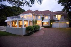 Magnificent Home - Durban North, KZN  In the heart of Durban North lies this exclusive but relaxed family home with rolling lawn, tennis court, and pool providing opportunities for outdoor activities and true relaxation. This house is in a prime position surrounded by major attractions within eight minutes away. See more of this Magnificent Home on http://www.wheretostay.co.za/magnificienthome/