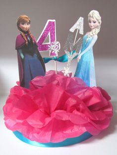 Princess Anna Elsa Frozen Birthday Party by KhloesKustomKreation, $23.00