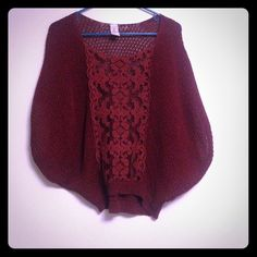Free people top  Burgundy Free People Top. Perfect condition! Free People Tops