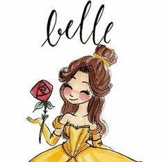 ideas disney art beauty and the beast belle Film Disney, Arte Disney, Disney Fan Art, Disney Love, Disney Magic, Disney Sketches, Disney Drawings, Diy Bullet Journal, Beauty And The Beast Art