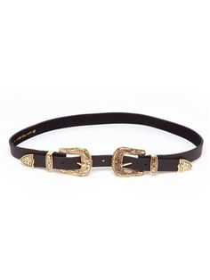 B-Low The Belt Baby Bri Bri Belt in Gold/Black | Boutique To You